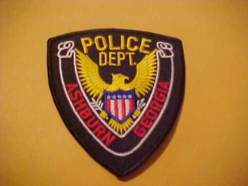 ASHBURN GEORGIA POLICE PATCH SHOULDER SIZE  NEW