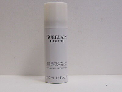 Guerlain Homme by Guerlain for Men 1.7 oz Perfumed Deodorant Spray Brand New Guerlain Deodorant Spray