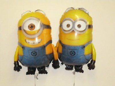 DESPICABLE ME MINION MADE FOIL PARTY BALLOONS - FILL WITH HELIUM BALOON 43*58 cm - Minions With Balloons