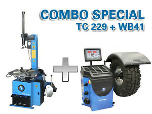 ATLAS TC229 / WB41 - TIRE CHANGER / WHEEL BALANCER - CLENTEC