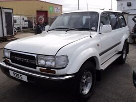 toyota landcruiser wanted