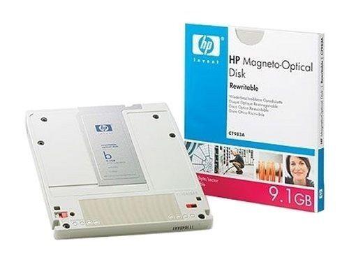 HP C7983A 9.1GB REWRITABLE OPTICAL MO DISK RW - *NEW* - SEALED
