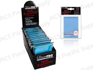 600 ULTRA PRO LIGHT BLUE DECK PROTECTORS SLEEVES Standard MTG Colors Lot