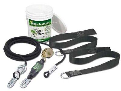 Miller Techline Temporary Horizontal Lifeline System Kits Hllr260ft Bucket