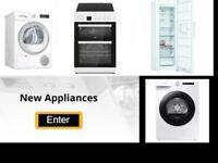 New condenser dryers / Heat pump condenser dryers & refurbished available