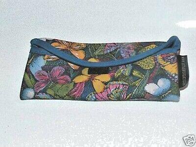 (New Soft Cloth Suede Fabric Eyeglass Case Butterflies BUTTERFLY)