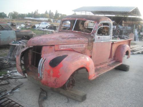 on 1941 1946 chevy pickup trucks for sale