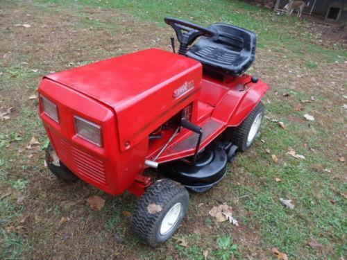 Used sears lawn tractors ebay autos post for Used lawn and garden equipment