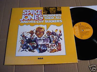 SPIKE JONES - MURDERS THEM ALL  - 2 LPs RCA Germany