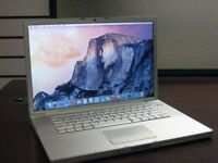 Apple MacBook Pro 4.1 A1260 - Intel Core 2 Duo 2.50GHz, 2GB RAM, 250GB HDD - OSX Snow Leapard