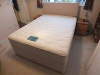 Dreams Divan, 2 Part with Drawers, Zen Mattress and Headboard