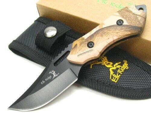 Elk Ridge Fixed Blade Camo
