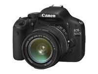 Canon EOS 550D Camera + Canon EF-S 55-250mm Zoom Lens