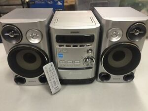 Sony Micro Hi Fi Component System Stereo 5 Cd Changer