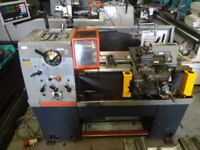 COLCHESTER STUDENT 1800 GAP BED CENTRE LATHE 25 INCH CENTRES DRO
