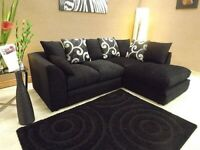 BRAND NEW LILLY CORNER SOFA ONLY £299 CAN DELIVER