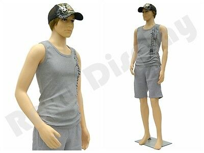 Plastic Durable Male Manikin Mannequin Display Dress Form Ps-ken Free Wig