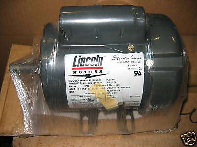 New Leeson Lm24597 13hp 1725rpm Phase 1 Electric Motor