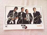 Big Time Rush Autograph