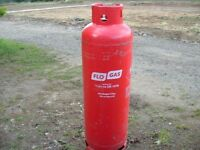 FloGas FULL 47kg Propane gas bottle delivered free of charge 10 miles radius of Diss Norfolk