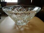 Star of David Punch Bowl