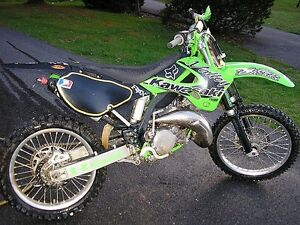 Looking for a kx125