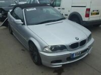 Breaking BMW E46 Cabrio Convertible 330 CI M SPORT petrol for parts spares