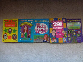 Five Jacqueline Wilson Children's Books in excellent condition for sale £4.95