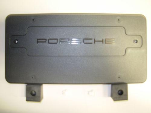 Porsche Front License Plate Ebay