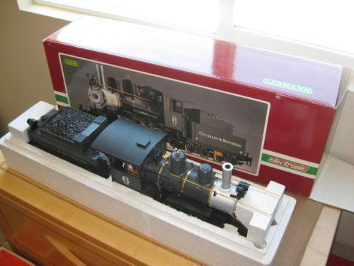 Playmobil LGB G scale locomotive Train 4002 Part Red Frame ...  |Lgb Engine Cow
