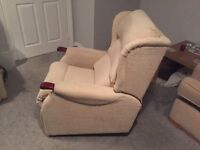 Comfort Plus Electric Rise & Recline Chair With Massage System