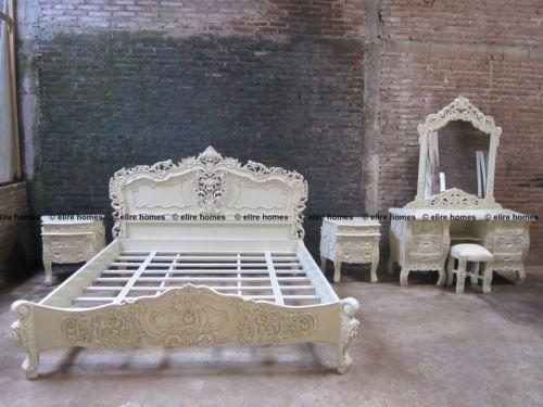 Rococo King Size Bed | eBay