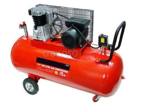 Belt Driven Air Compressor Ebay
