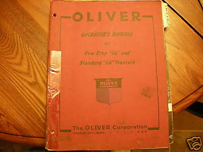 Oliver 2-804-80 Tractor Parts Book