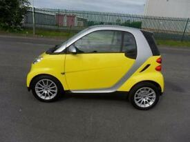 SMART FORTWO PASSION AUTO PETROL 2 DOOR 2008 PLATE YELLOW [£29 PER WEEK]