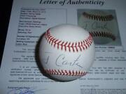 Jimmy Carter Signed Baseball