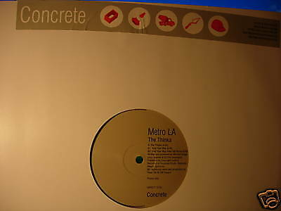 "METRO LA - THE THINKA -  UK 12"" - N/M 1996 BIG BEAT - CONCRETE PROMO"