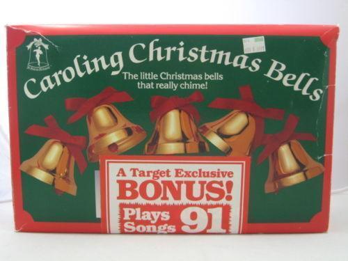 musical christmas bells ebay