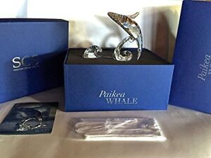 Swarovski Paikea Whale - Signed - Retired