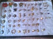 Huge Vintage Brooch Lot