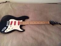 Fender Strat Stratocaster style electric guitar lovely cond plays well Red Pick ups! - New strings