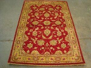 Exclusive Chobi Mahal Zeigler Vege Dyed Rare Area Rug Hand Knotted Carpet (6.1 x 4.1)'