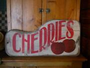 Antique Wooden Sign