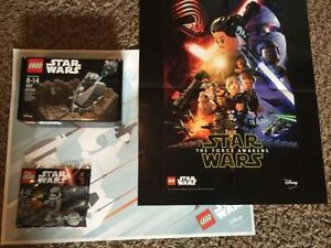 **EXCLUSIVE** Lego Star Wars Escape the slug set only 3500 made