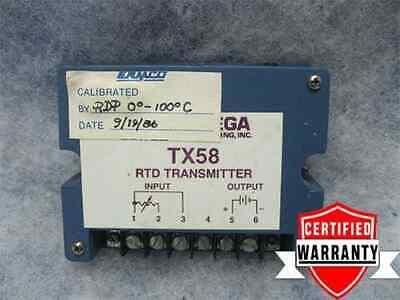 Omega Engineering Tx58 Rtd Transmitter Tx58-pts