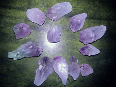 1 Natural Amethyst Quartz Crystal Points 3-5cm Reiki Chakra Cleansed Healing Gem