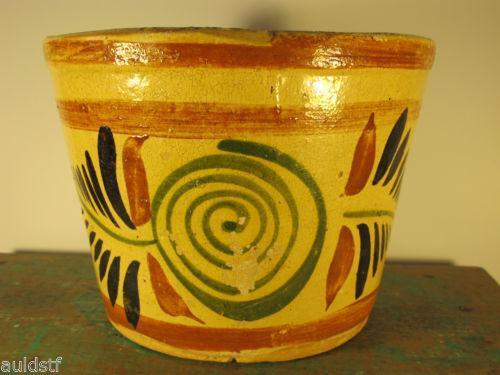 Mexican Flower Pot Pottery Ebay