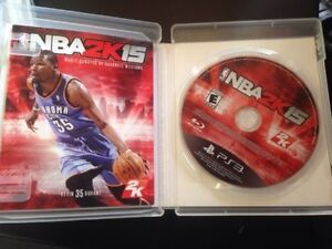 SONY PlayStation 3 PS3 NBA 2K15 2015 (COMPLETE) Cambridge Kitchener Area image 3