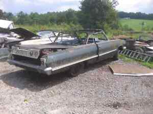 Iso wanted 1963 impala 2 door project