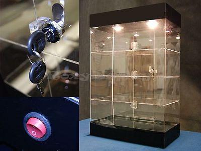 Acrylic Display Tower Show Case #JW-AD-F6804BK